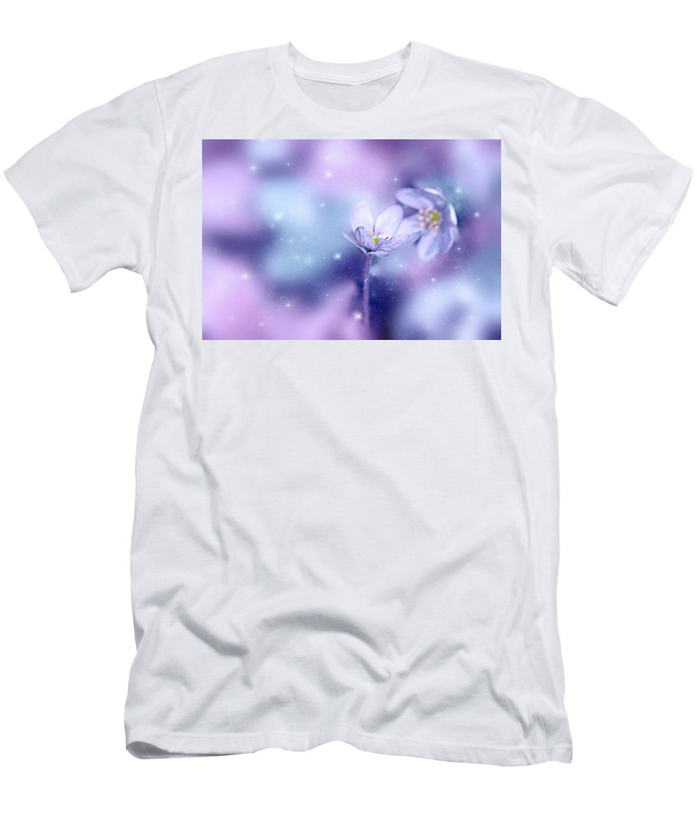 Flora Men's T-Shirt (Athletic Fit) featuring the photograph Flower by Heike Hultsch