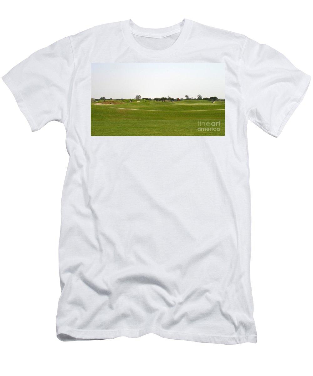 Beautiful Men's T-Shirt (Athletic Fit) featuring the photograph Golf by Henrik Lehnerer