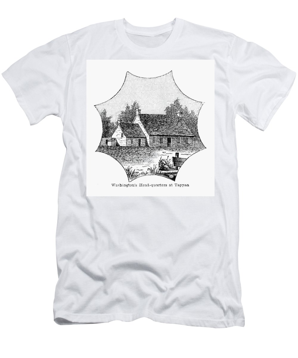1780 T-Shirt featuring the photograph Washington: Headquarters by Granger
