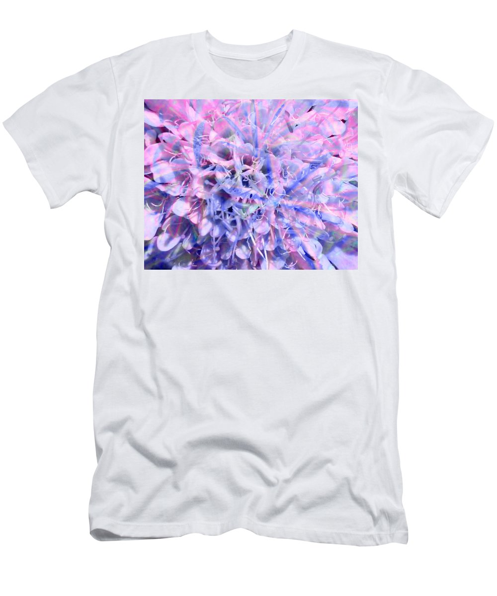 Flower Men's T-Shirt (Athletic Fit) featuring the photograph A Nuclear Balm by Steve Taylor