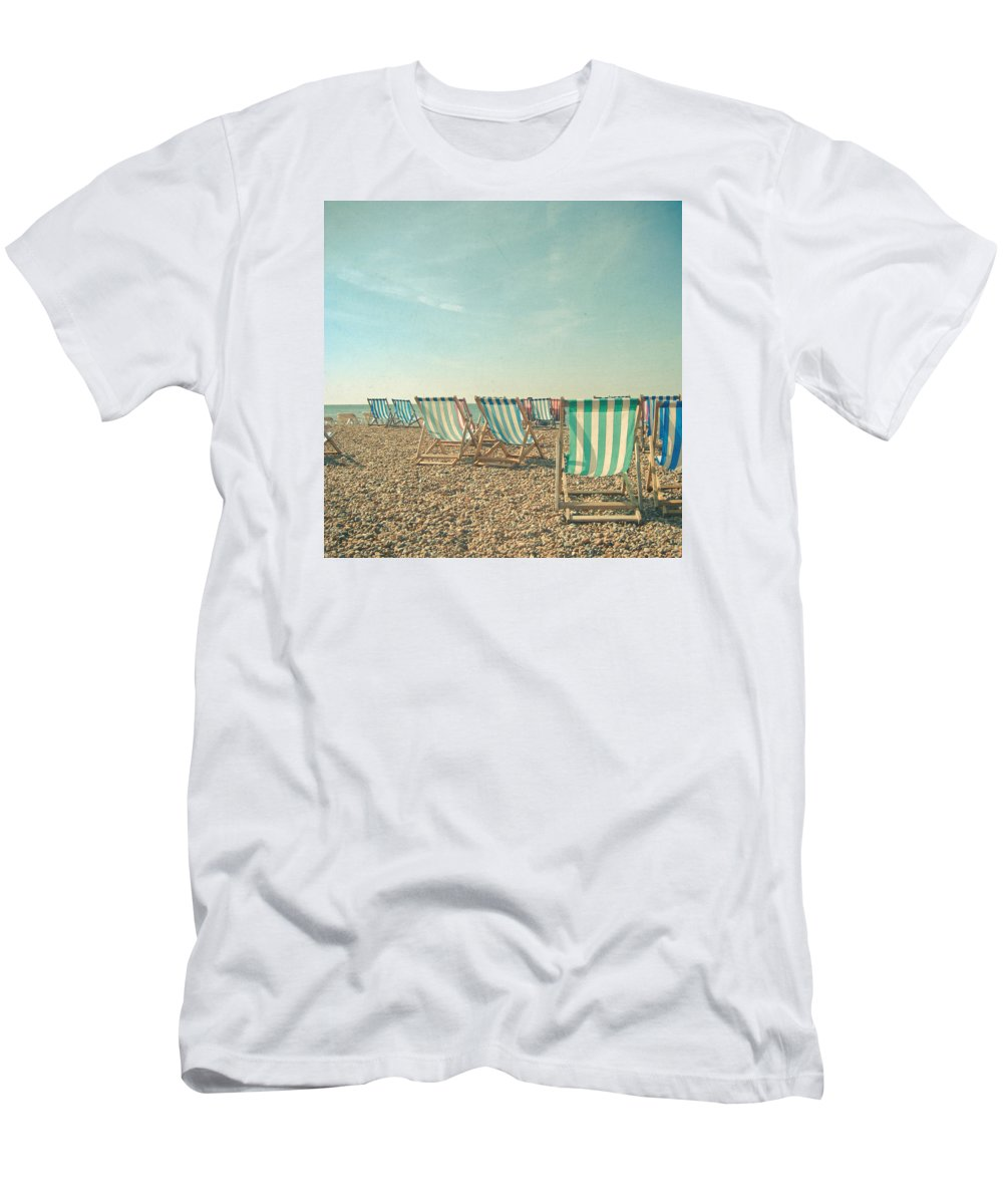 Beach T-Shirt featuring the photograph A Sea View by Cassia Beck