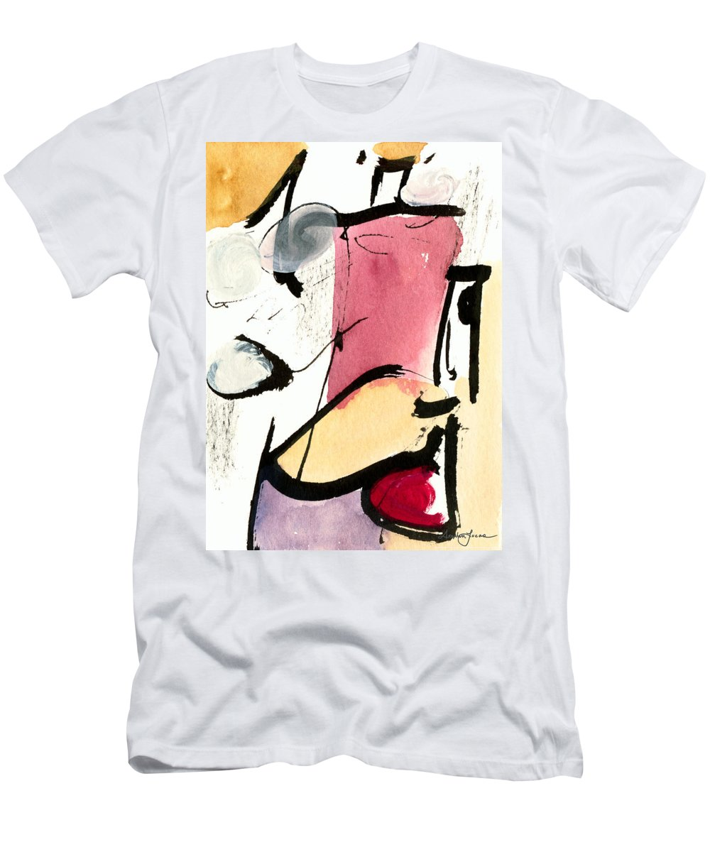 Abstract Art Men's T-Shirt (Athletic Fit) featuring the painting A Thing Of Beauty by Stephen Lucas