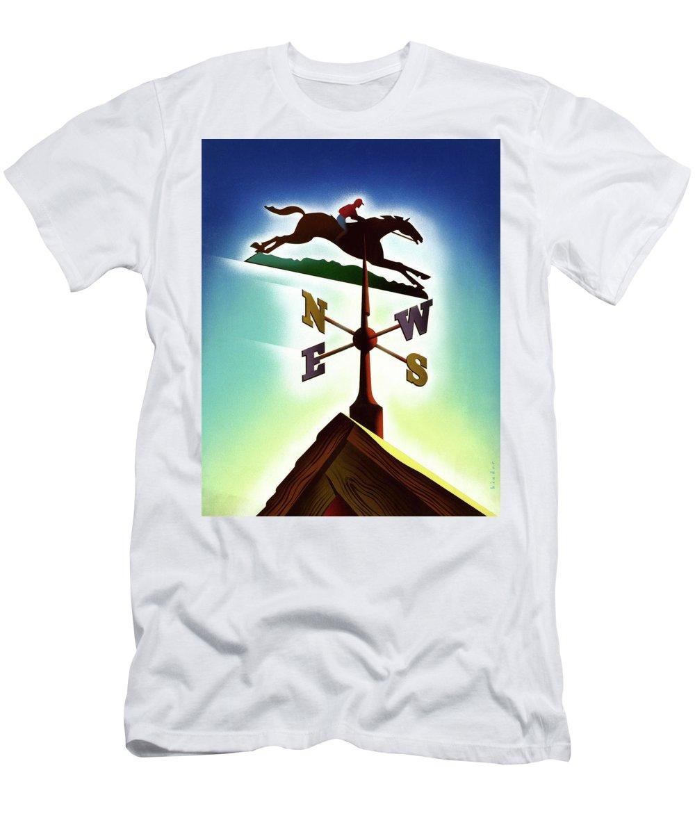 Decorative Art T-Shirt featuring the digital art A Weather Vane by Joseph Binder