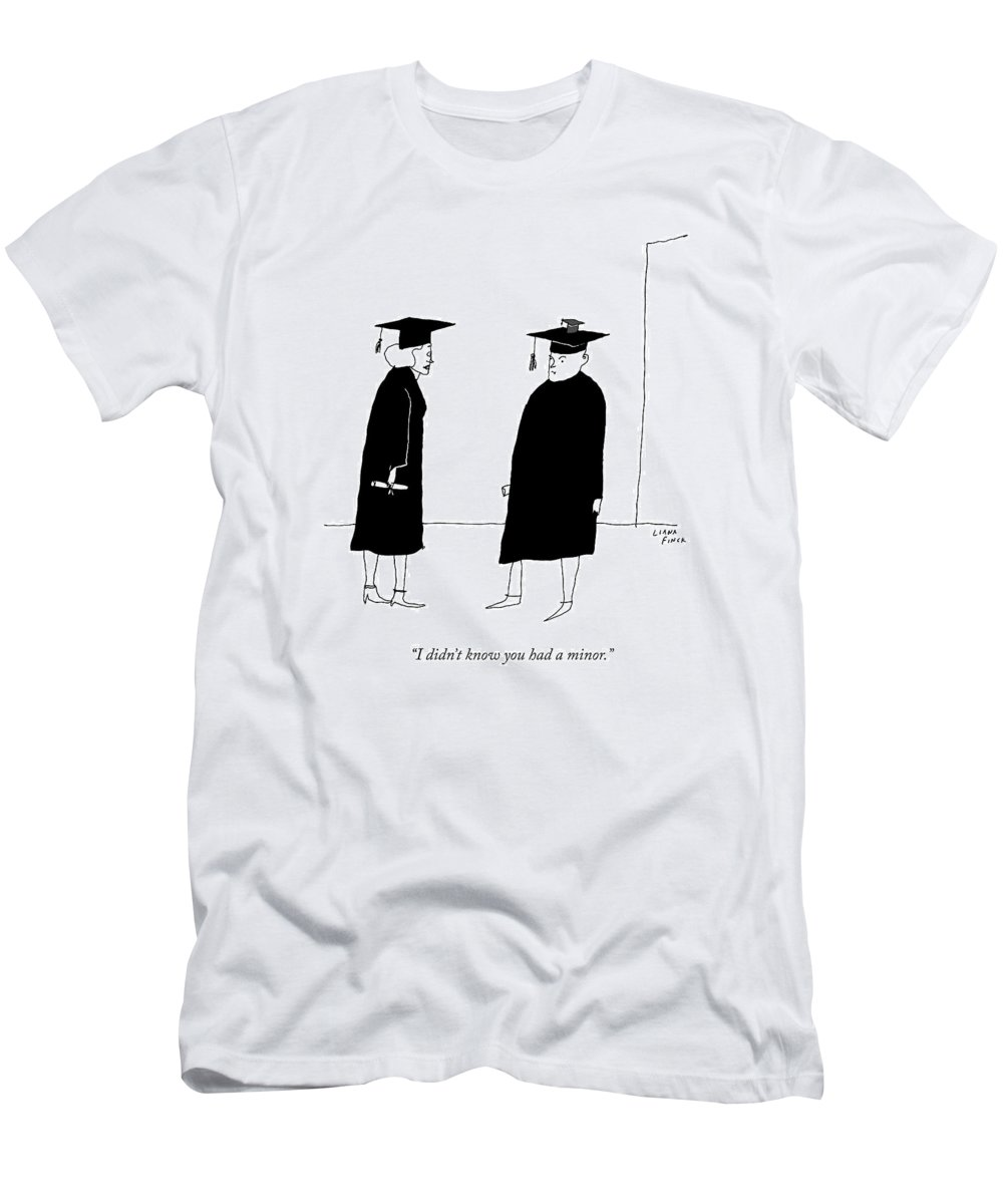 A Woman In A Graduation Cap And Gown Speaks T-Shirt for Sale by ...