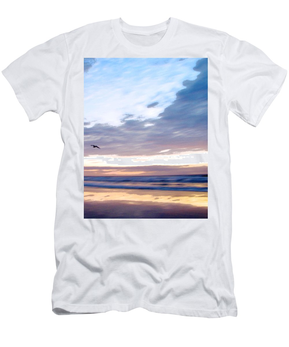 Ron Tackett Men's T-Shirt (Athletic Fit) featuring the photograph Accelerate by Ron Tackett