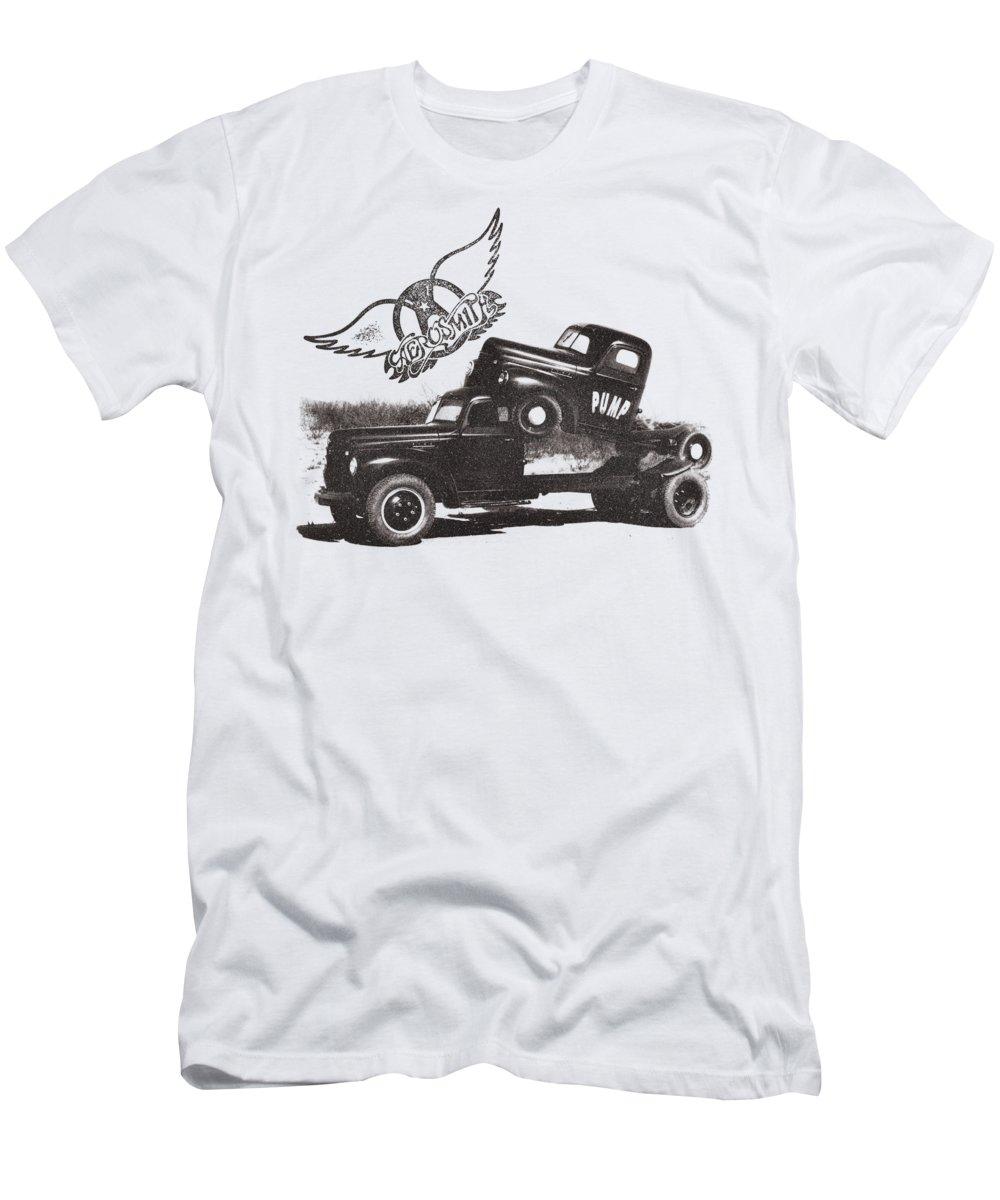 Aerosmith - Pump Men's T-Shirt (Athletic Fit)
