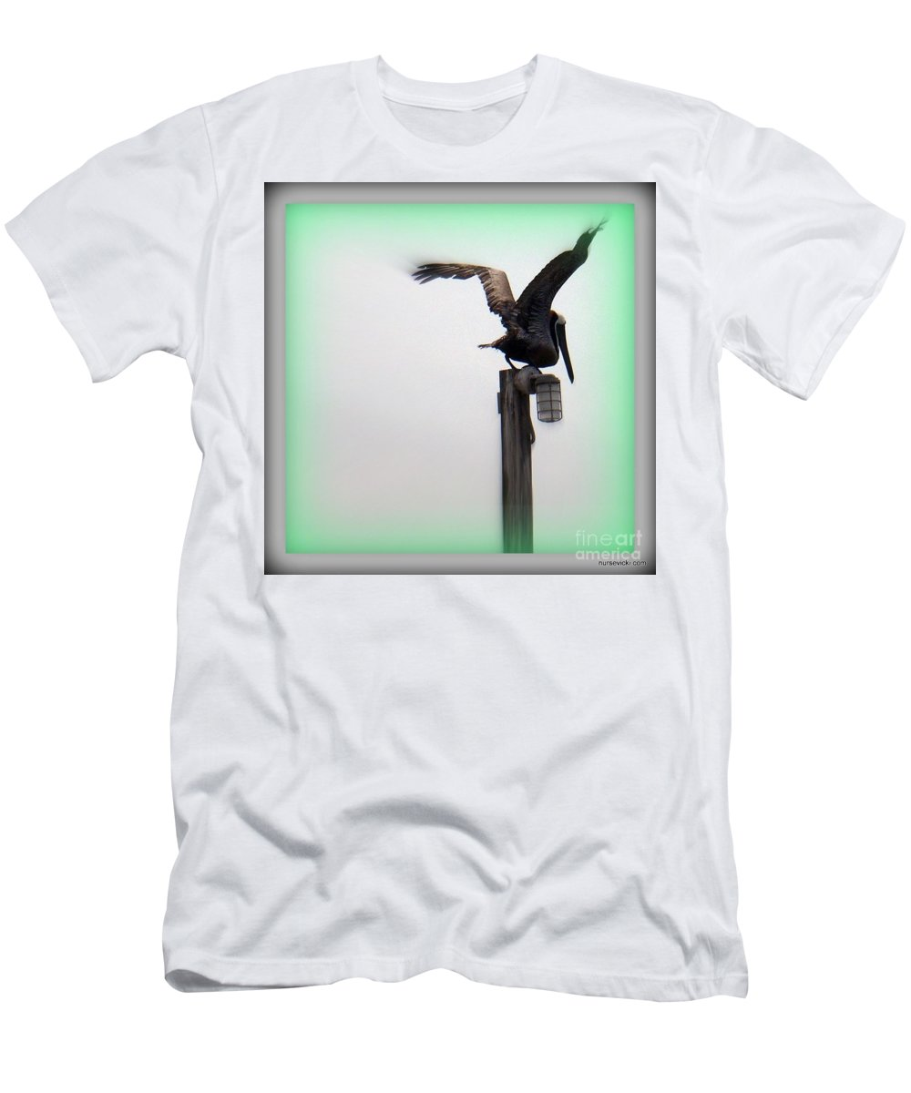 Gray Scale Men's T-Shirt (Athletic Fit) featuring the photograph Another Time by Victoria Beasley