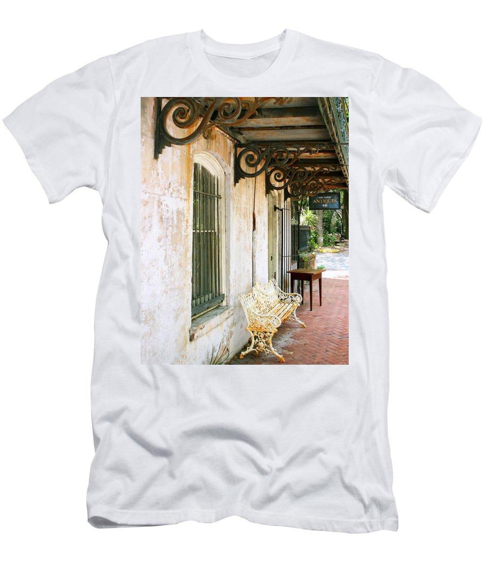 Savannah Men's T-Shirt (Athletic Fit) featuring the photograph Antique Savannah by William Dey