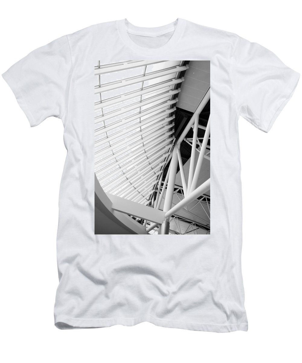 Interior Men's T-Shirt (Athletic Fit) featuring the photograph Architectural Details by Alexey Stiop
