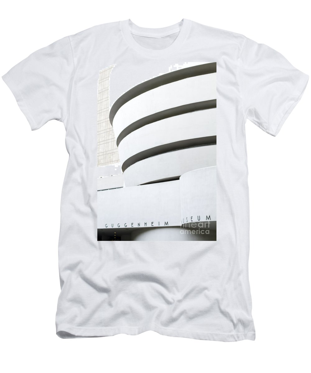 Men's T-Shirt (Athletic Fit) featuring the photograph Art Museum by Sara Schroeder