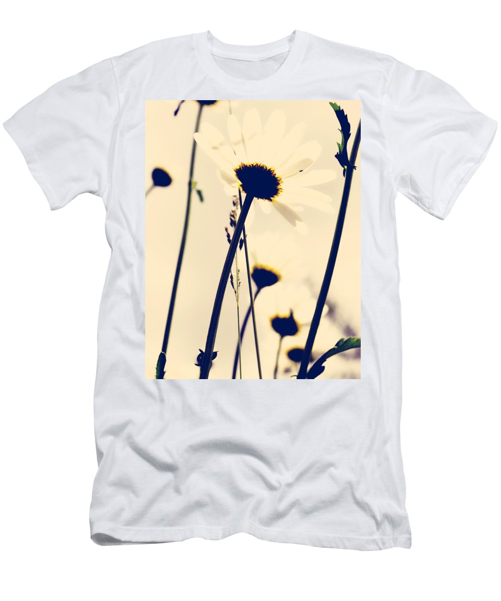 Flowers Men's T-Shirt (Athletic Fit) featuring the photograph As The Air by The Artist Project