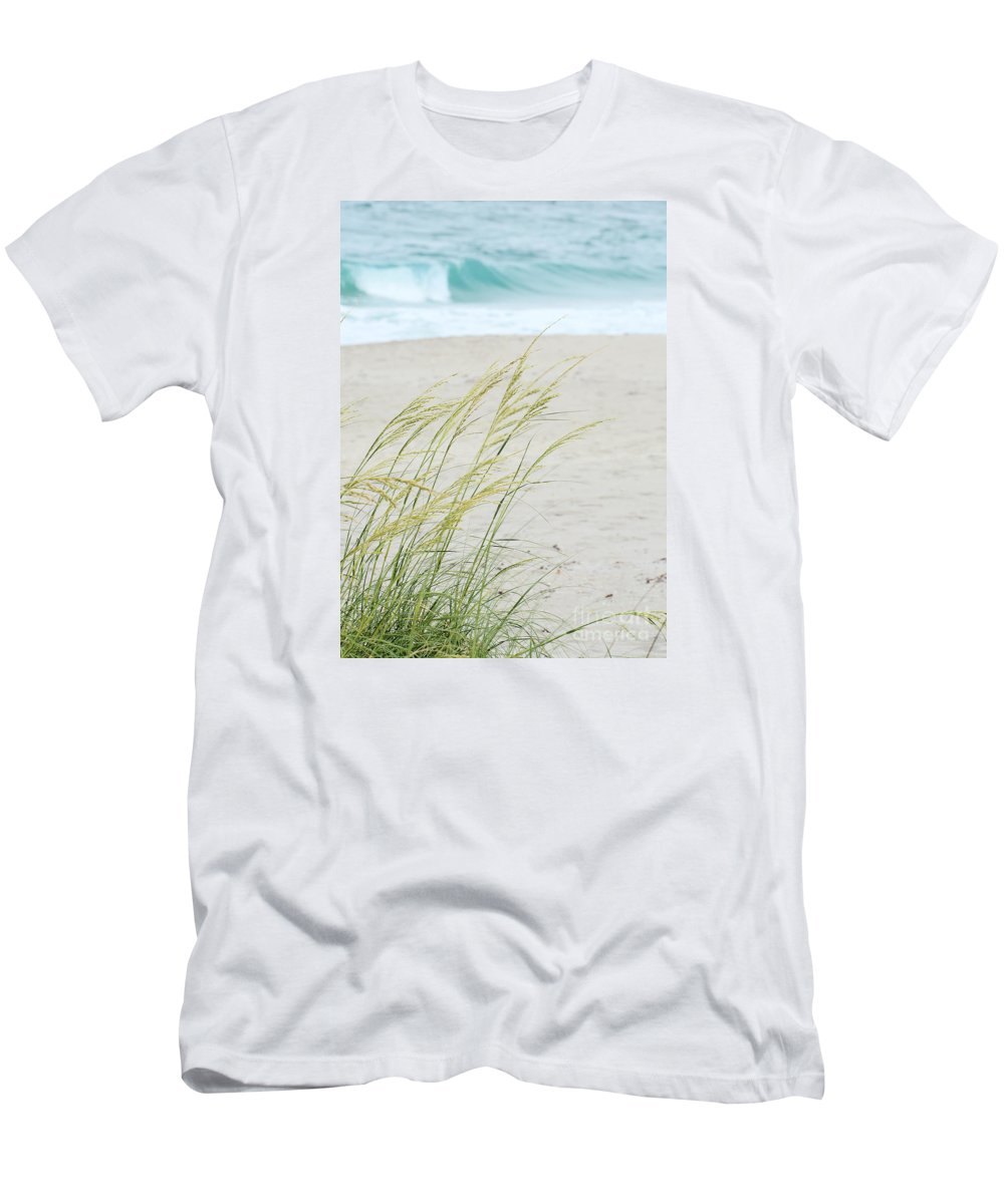 Landscape T-Shirt featuring the photograph By The Sea by Sabrina L Ryan