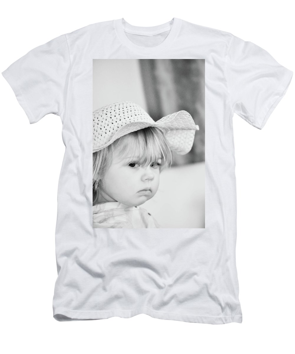 Baby Men's T-Shirt (Athletic Fit) featuring the photograph Aubrey by Trish Tritz
