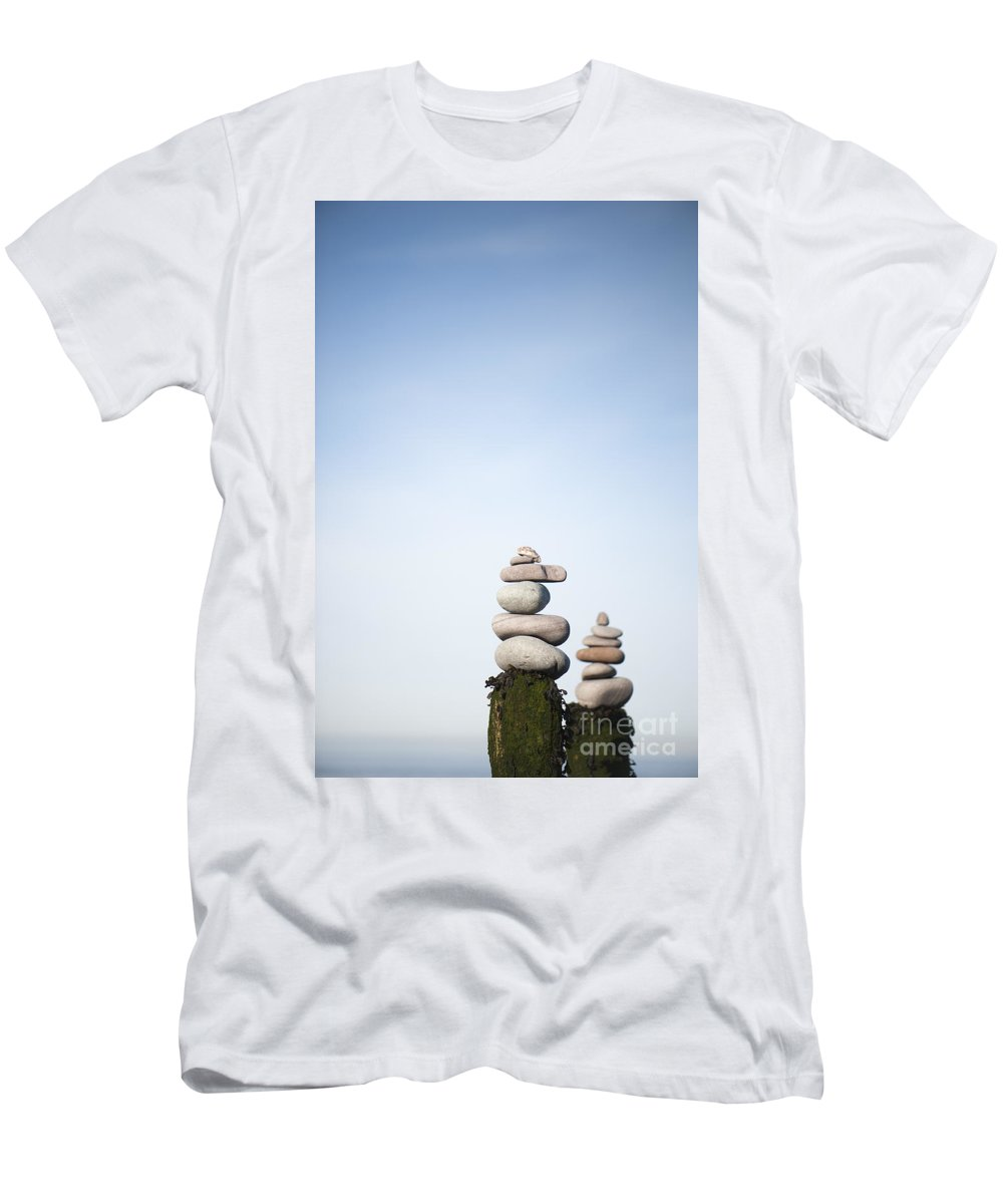 Art Men's T-Shirt (Athletic Fit) featuring the photograph Balanced by Anne Gilbert