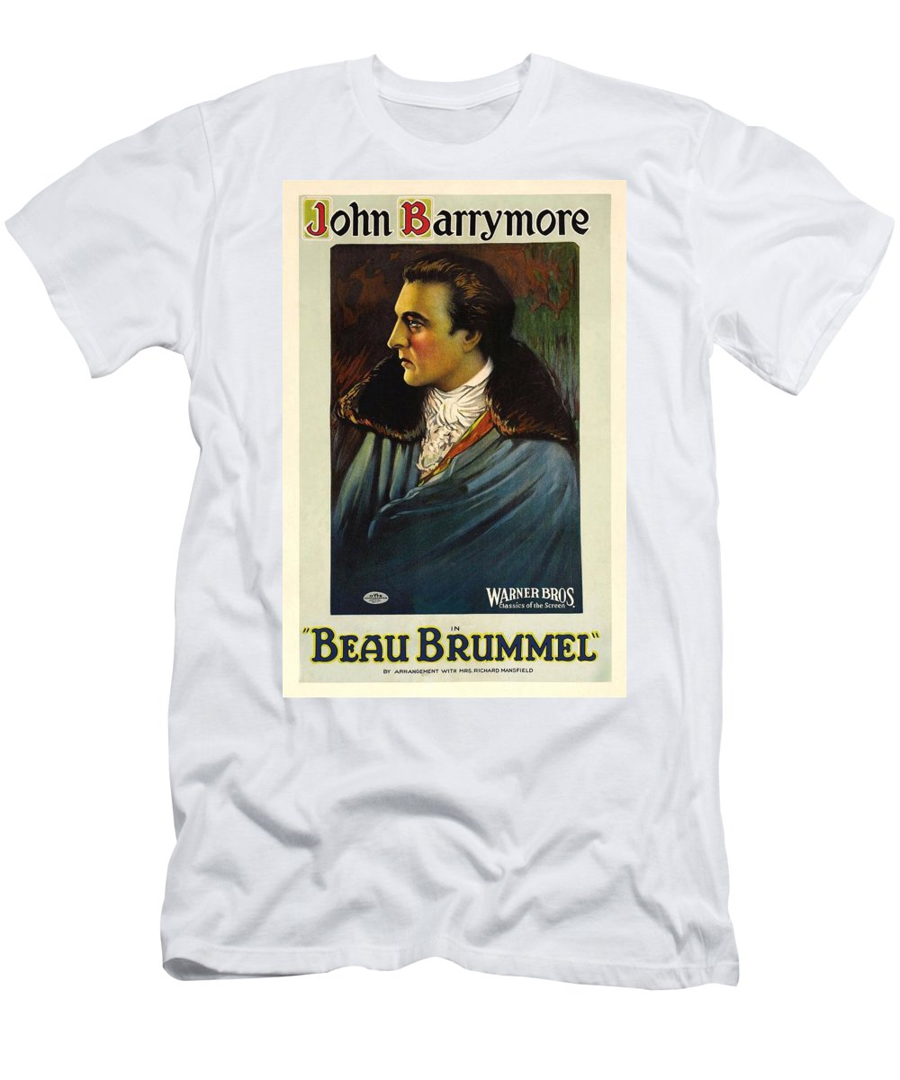 Beau Brummel Men's T-Shirt (Athletic Fit) featuring the photograph Beau Brummel by Movie Poster Prints