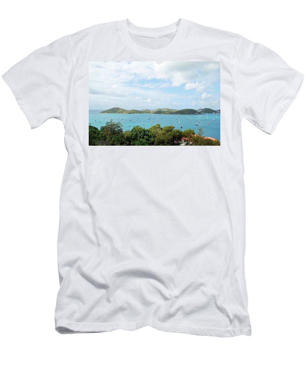 St Thomas Men's T-Shirt (Athletic Fit) featuring the photograph Beautiful St Thomas by Aimee L Maher ALM GALLERY