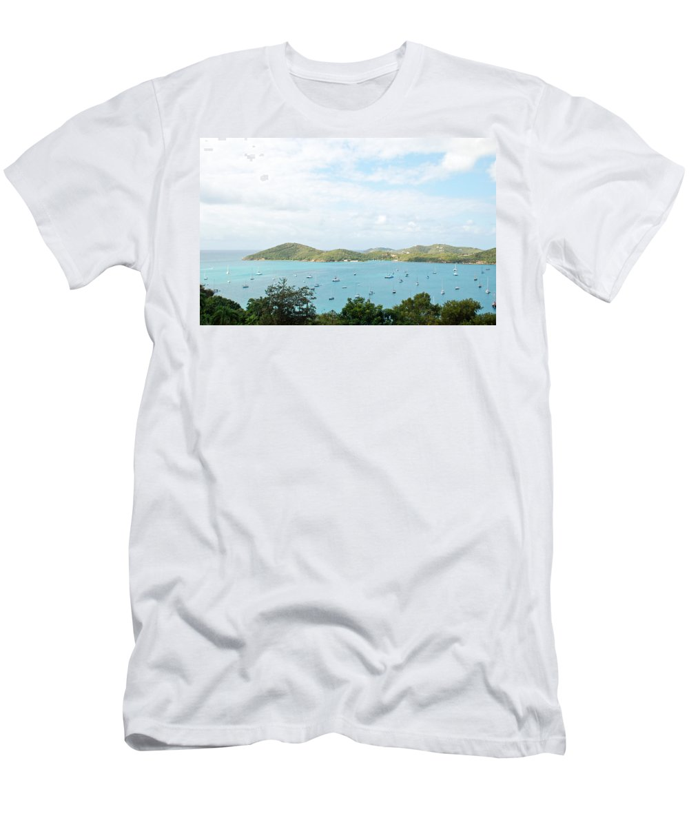St Thomas Men's T-Shirt (Athletic Fit) featuring the photograph Beauty Of St Thomas by Aimee L Maher ALM GALLERY