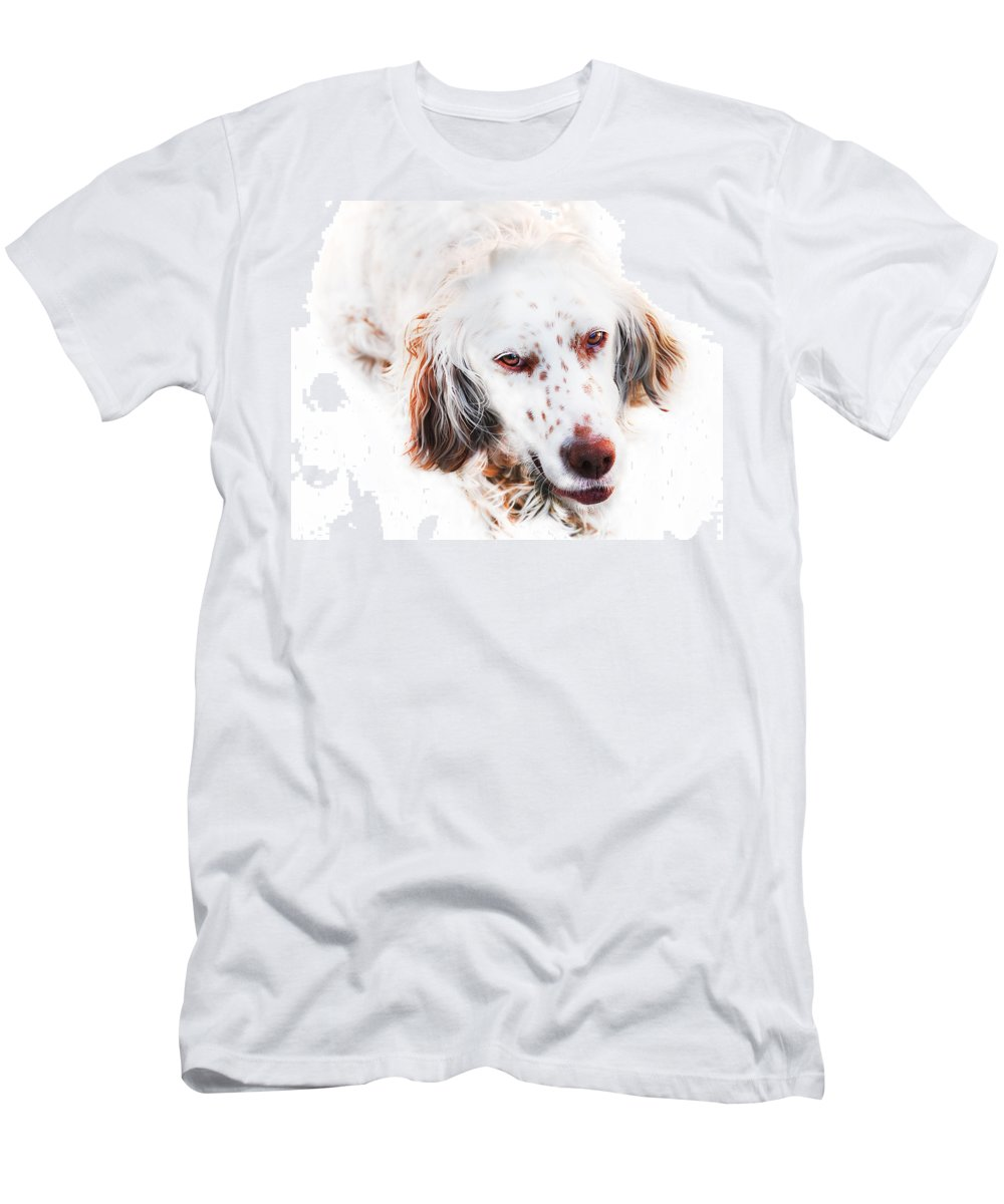 Dog Men's T-Shirt (Athletic Fit) featuring the digital art Best Friend by Gina Dsgn
