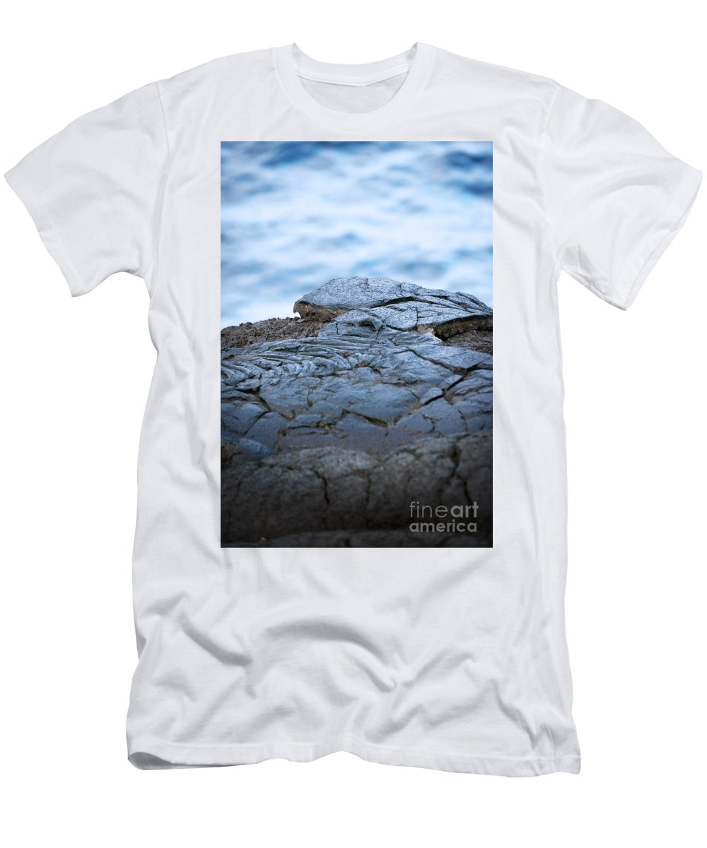 Coast Men's T-Shirt (Athletic Fit) featuring the photograph Between You And Me by Ellen Cotton