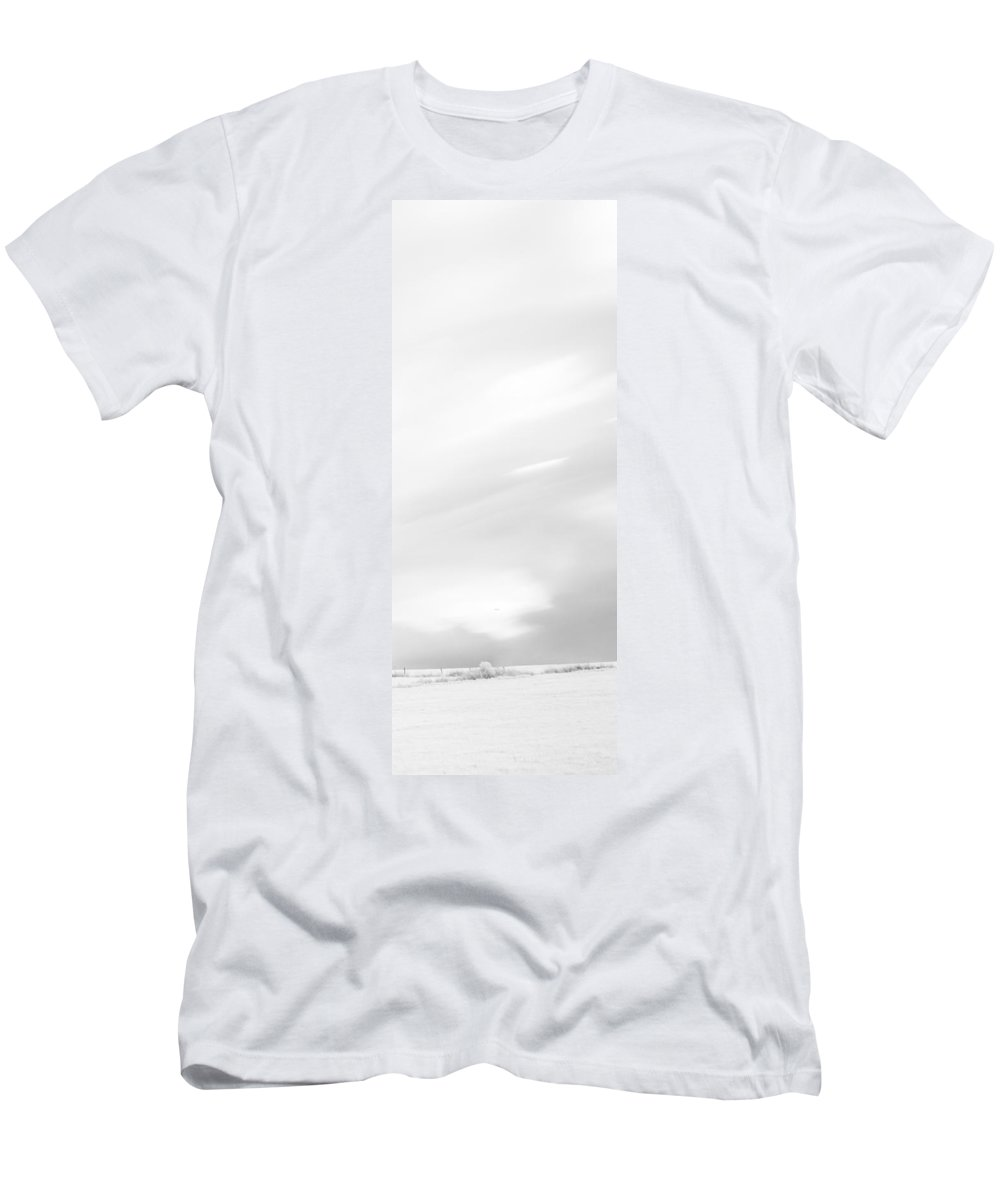 Autumn Men's T-Shirt (Athletic Fit) featuring the photograph Black And White Triptych Tree 13-0747 Set 3 Of 3 by U Schade