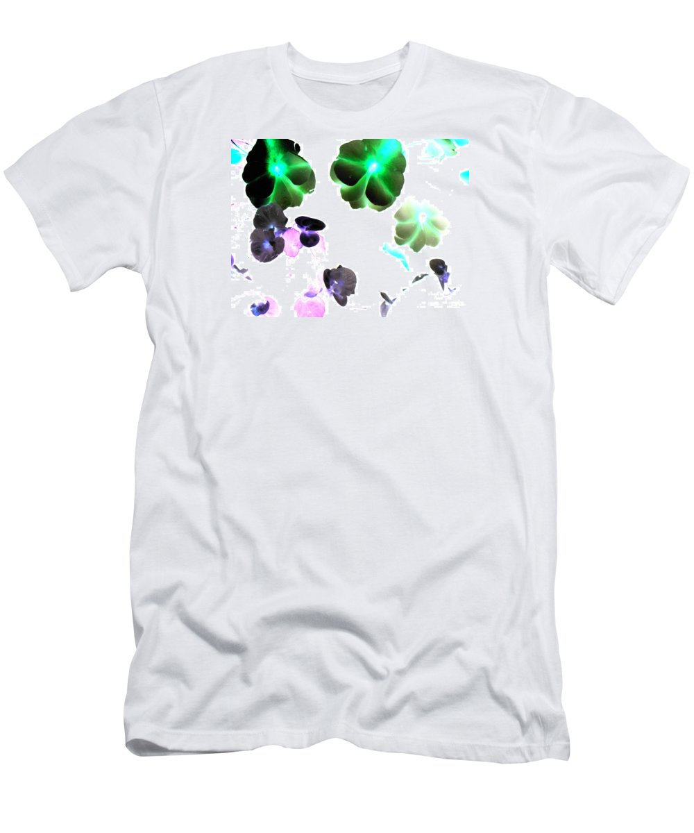 Space Men's T-Shirt (Athletic Fit) featuring the photograph Blooming Space by Pauli Hyvonen