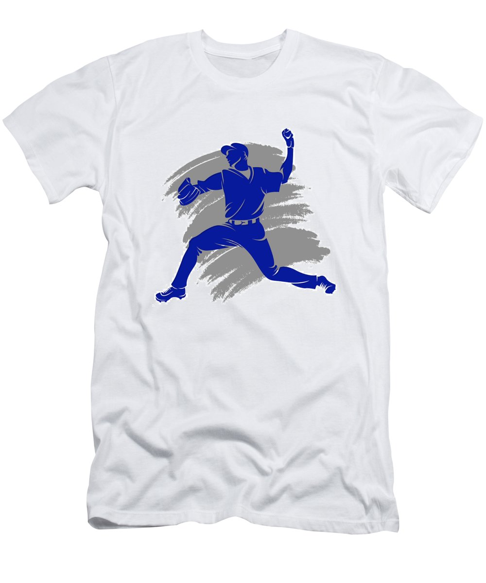 Blue Jays Men's T-Shirt (Athletic Fit) featuring the photograph Blue Jays Shadow Player2 by Joe Hamilton