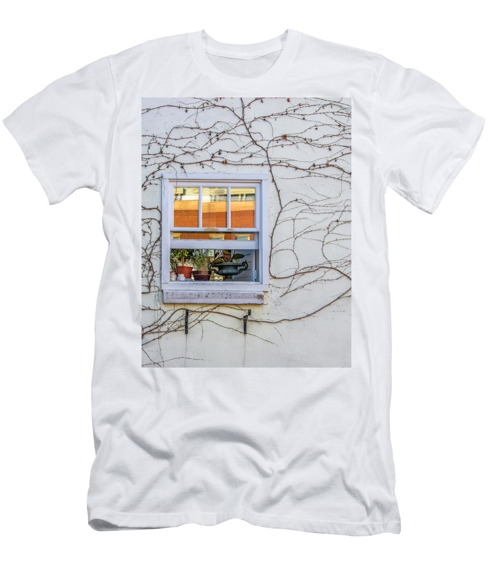 Spring Men's T-Shirt (Athletic Fit) featuring the photograph Bring On Spring by Steve Harrington