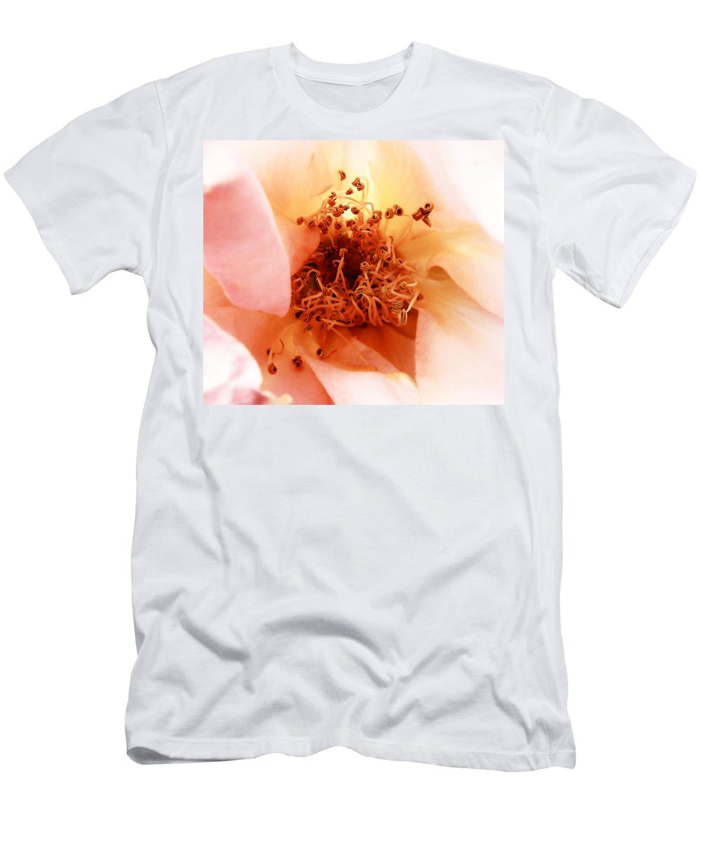 Flower Men's T-Shirt (Athletic Fit) featuring the photograph Buried Treasure by Steve Taylor