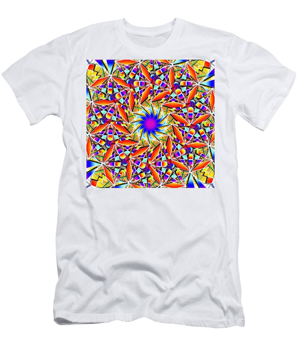 Chaos In Order Men's T-Shirt (Athletic Fit) featuring the digital art Chaos In Order by Derek Gedney