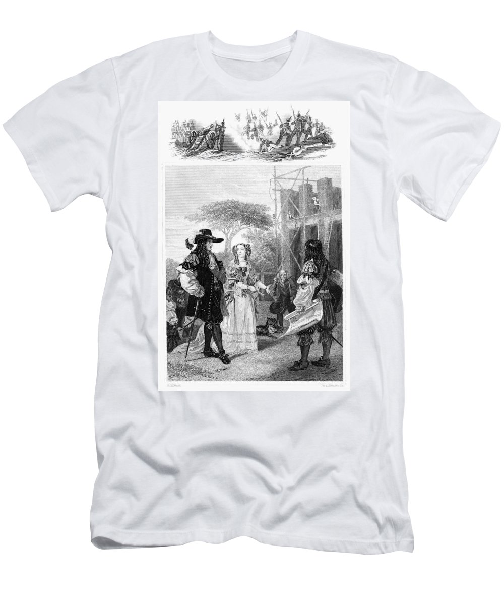 1682 Men's T-Shirt (Athletic Fit) featuring the photograph Chelsea Hospital, 1682 by Granger