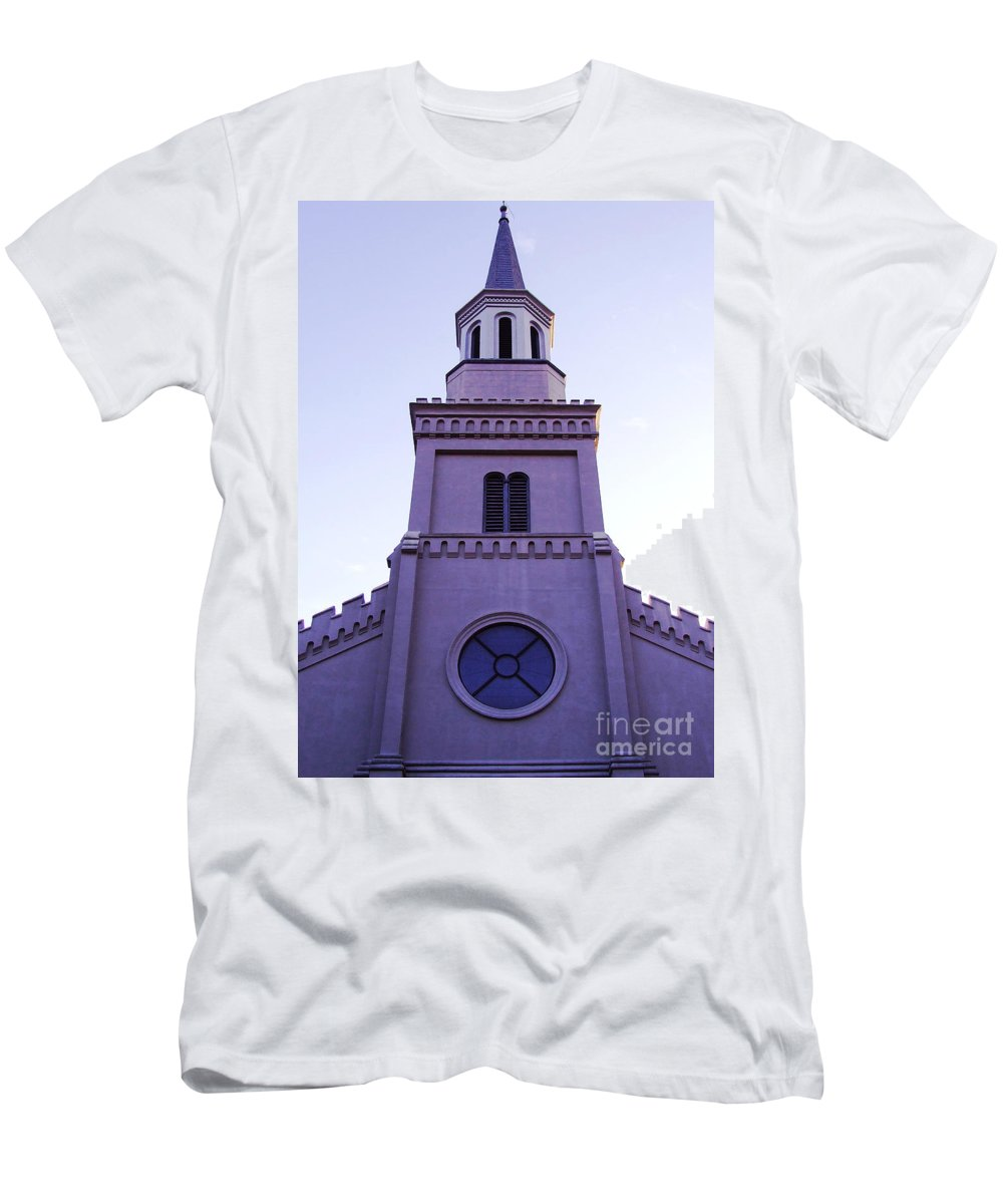 Church Men's T-Shirt (Athletic Fit) featuring the photograph Church by Andrea Anderegg