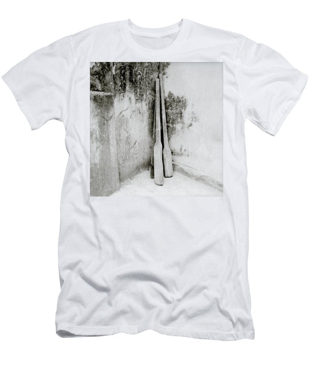 Simplicity Men's T-Shirt (Athletic Fit) featuring the photograph Stillness by Shaun Higson