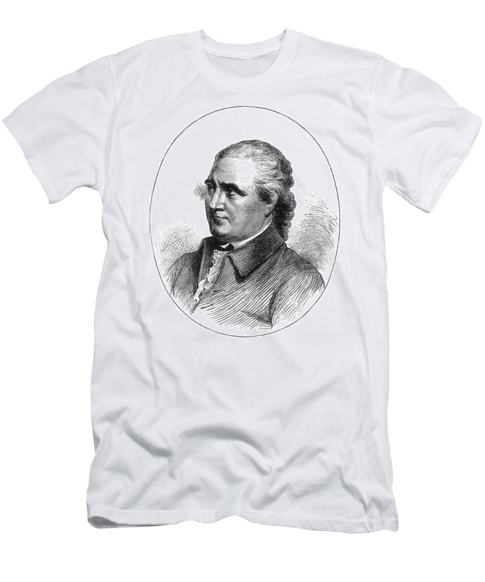 18th Century Men's T-Shirt (Athletic Fit) featuring the photograph Colonel Isaac Barre by Granger