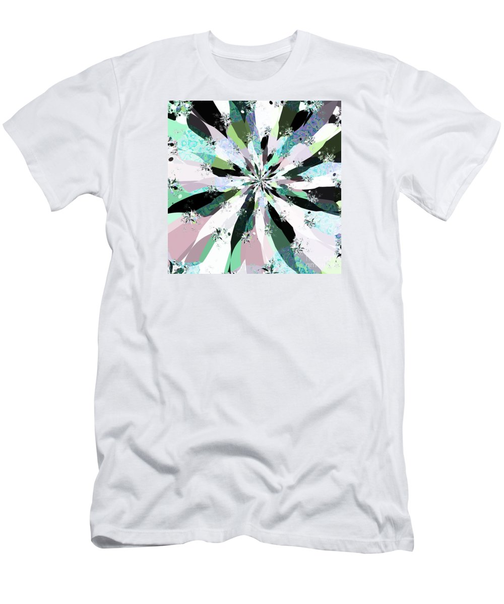 Cotton Candy Iii Men's T-Shirt (Athletic Fit) featuring the digital art Cotton Candy IIi by Kimberly Hansen