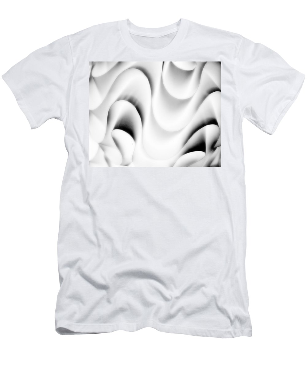 London Men's T-Shirt (Athletic Fit) featuring the photograph Curvy .. by A Rey