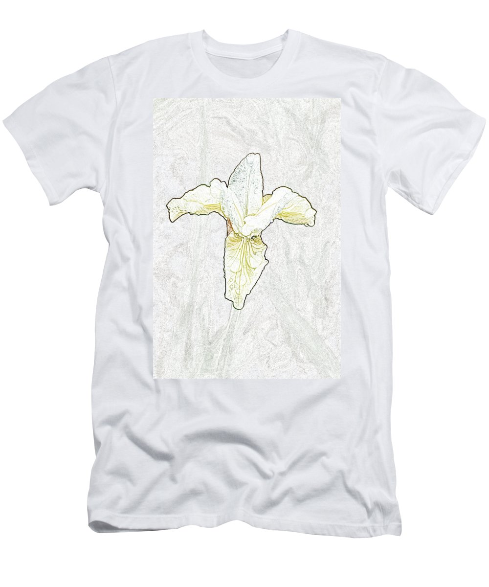 Delicate Men's T-Shirt (Athletic Fit) featuring the photograph Delicate Bloom by Robert DeFosses
