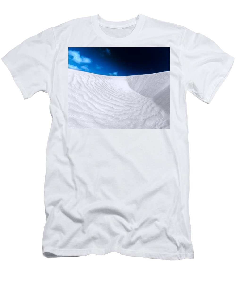 Sand Dunes Men's T-Shirt (Athletic Fit) featuring the photograph Desert Sands by Julian Cook