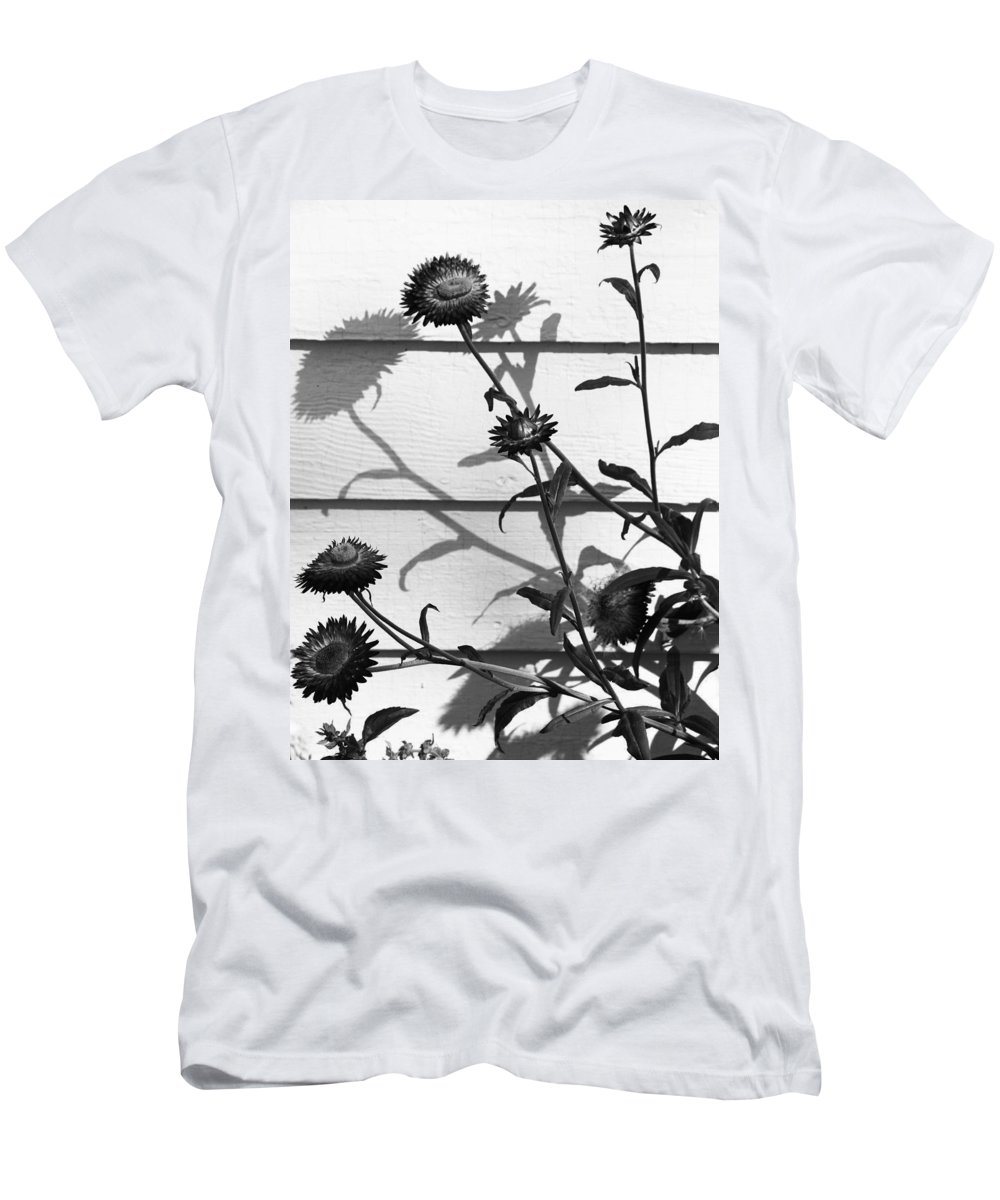 Flowers Men's T-Shirt (Athletic Fit) featuring the photograph Drunk Bees by The Artist Project