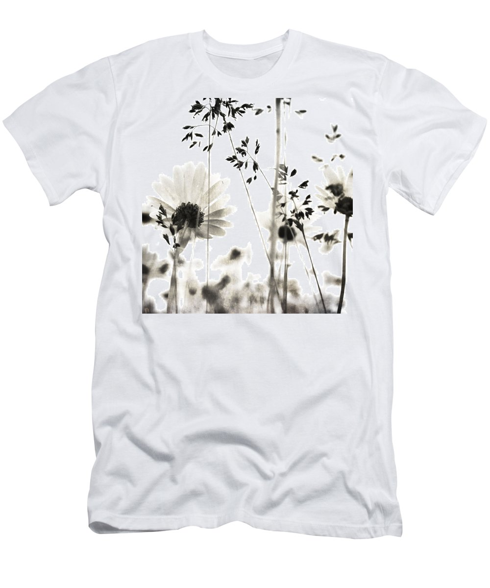 Flowers Men's T-Shirt (Athletic Fit) featuring the photograph Dusty Travels by The Artist Project