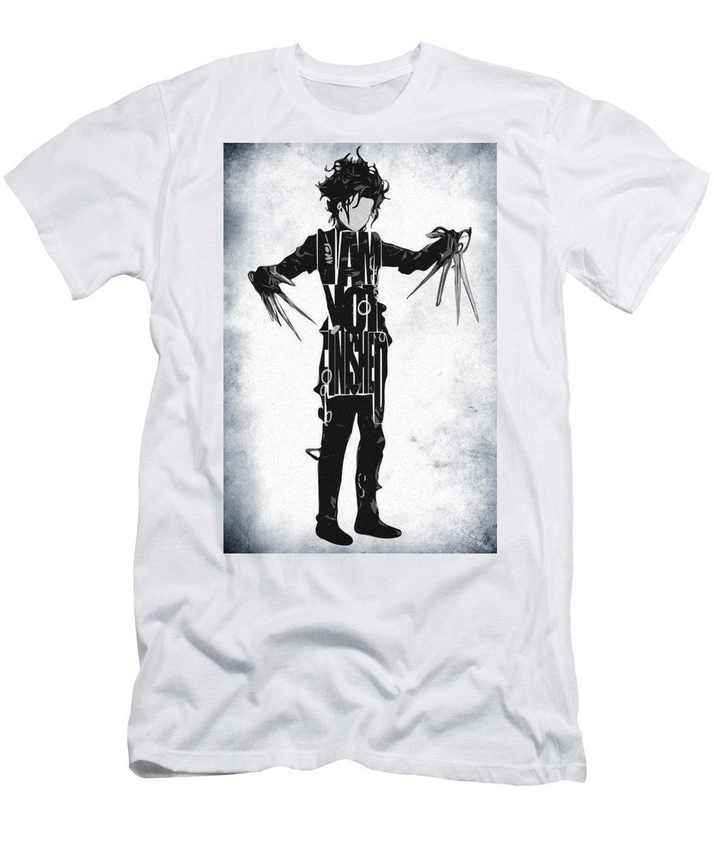 58038fe8f Edward Scissorhands - Johnny Depp T-Shirt for Sale by Inspirowl Design
