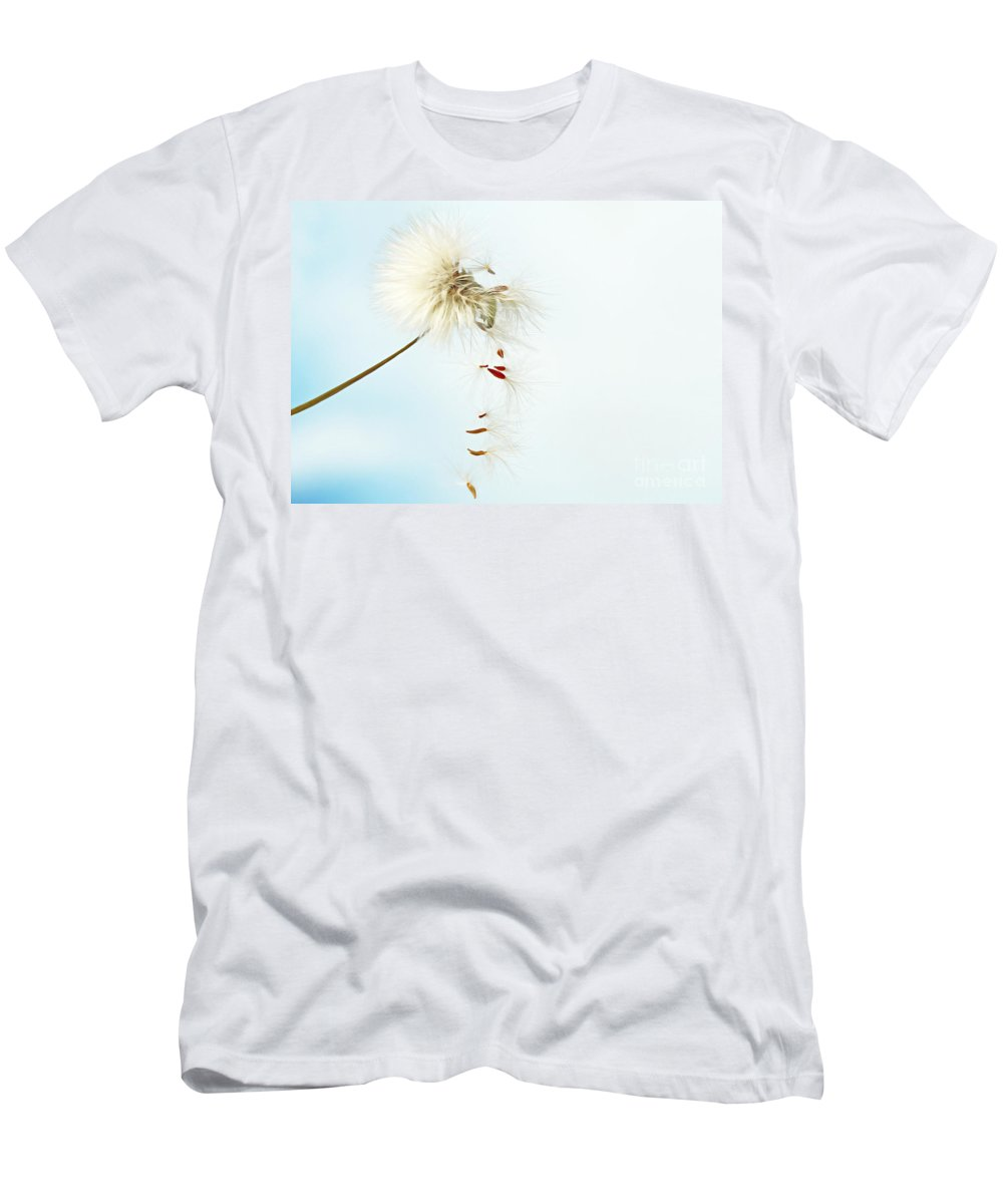 Sonchus Arvensis Men's T-Shirt (Athletic Fit) featuring the photograph Falling by Onelia PGPhotography