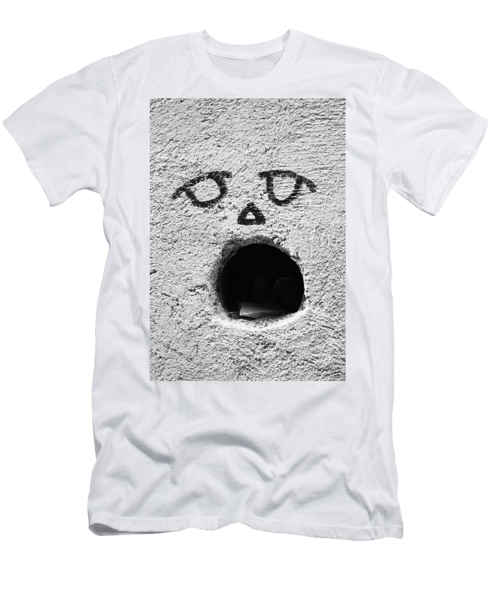 Abstract Men's T-Shirt (Athletic Fit) featuring the photograph Feed The Walls by The Artist Project