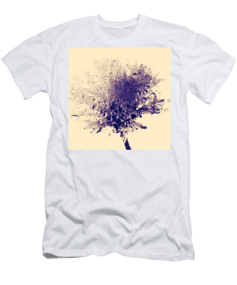 Flowers Men's T-Shirt (Athletic Fit) featuring the photograph Final Embrace by The Artist Project