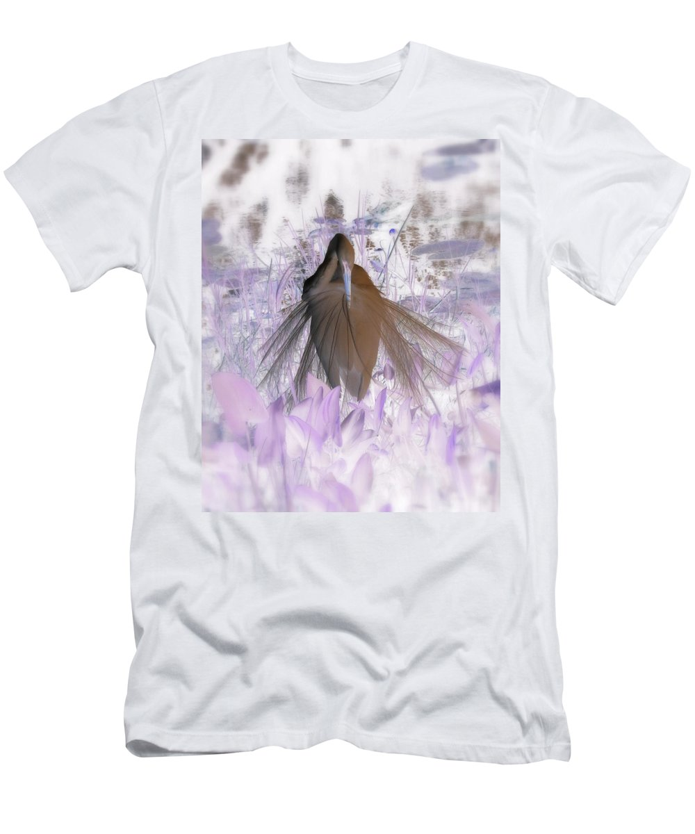 Nature Men's T-Shirt (Athletic Fit) featuring the photograph Florida Spring by Peg Urban