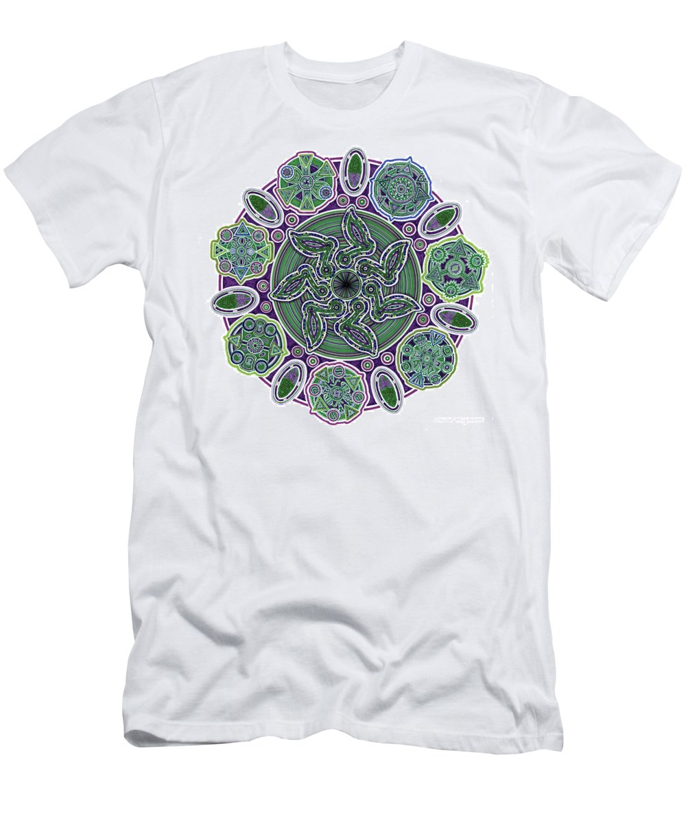 Migliore Men's T-Shirt (Athletic Fit) featuring the drawing gpm by Dave Migliore
