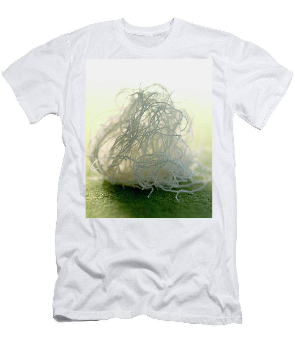 Cooking Men's T-Shirt (Athletic Fit) featuring the photograph Greek Dough Noodles by Romulo Yanes