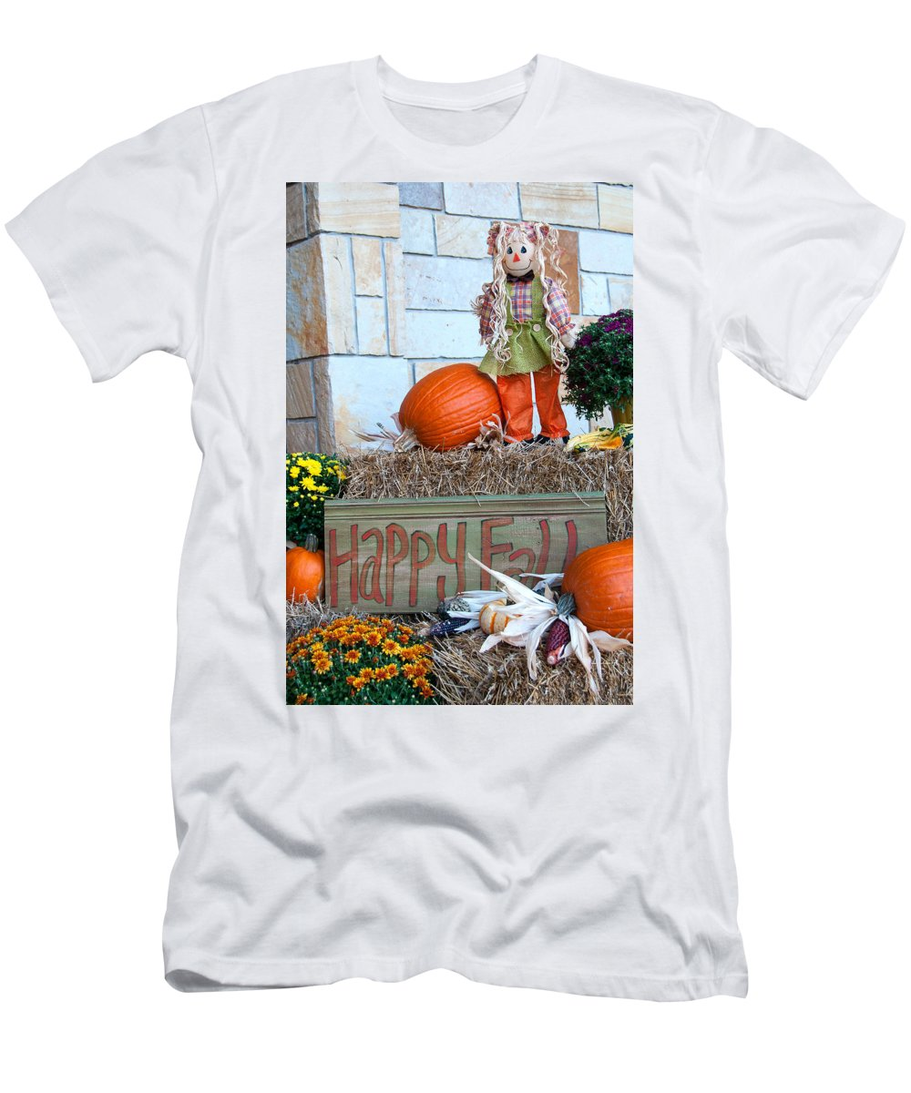Fall Men's T-Shirt (Athletic Fit) featuring the photograph Happy Fall by Steve Stuller