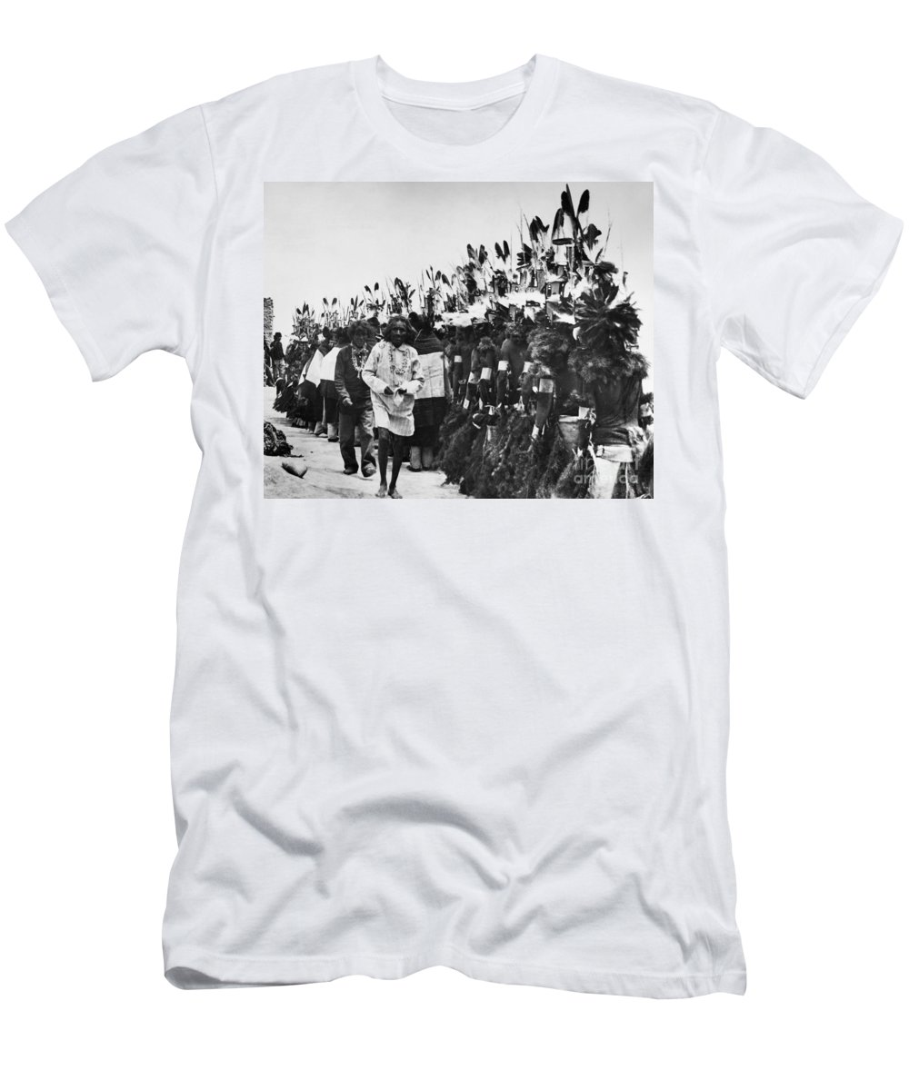 1913 Men's T-Shirt (Athletic Fit) featuring the photograph Hopi Dancers by Granger