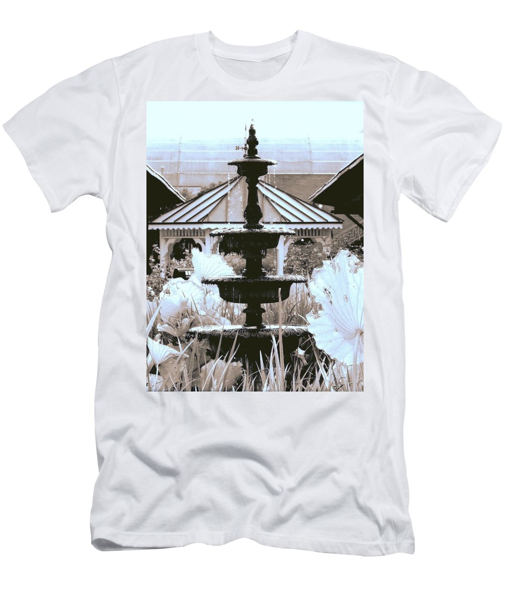 Winter Men's T-Shirt (Athletic Fit) featuring the photograph Ice Cold by Faith Williams