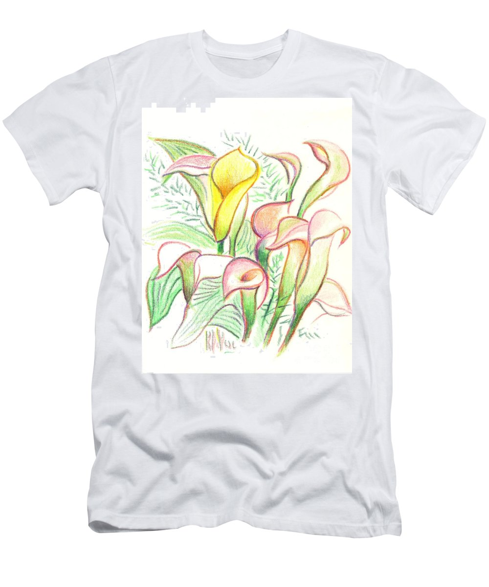 In The Golden Afternoon Men's T-Shirt (Athletic Fit) featuring the painting In The Golden Afternoon by Kip DeVore